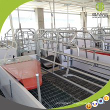 Hot Sale Galvanized Farrowing Crate Customized Poultry Feed Equipment